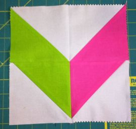 Finished Chevron Block