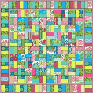 Trade Winds Jelly Roll Quilt
