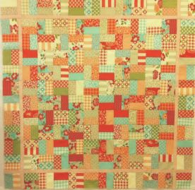 Vintage Modern Jelly Roll Quilt