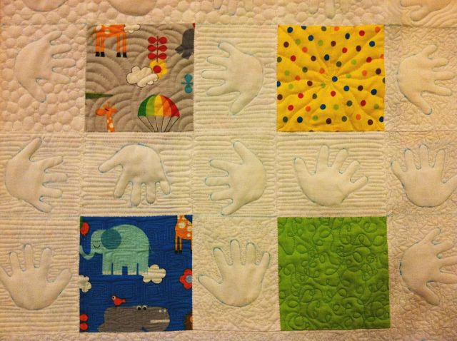 Busy Hands Quilt Detail