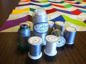Spools of Neutral Thread