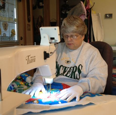 Quilting with Machingers