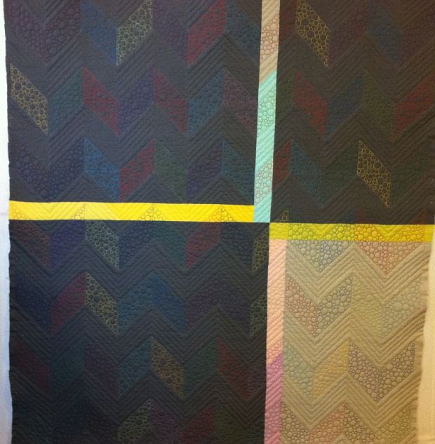 Chevron Quilt Back