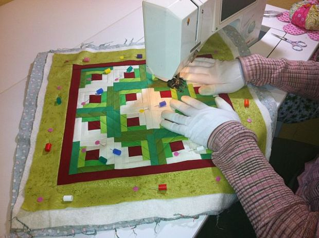 Straight Quilting