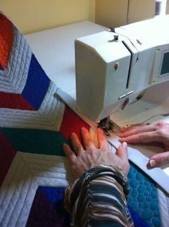 Sewing the Binding