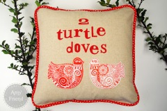 Turtle Doves Pillows