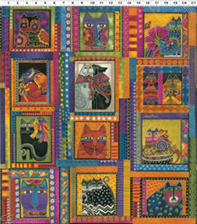 Laurel Burch Panel