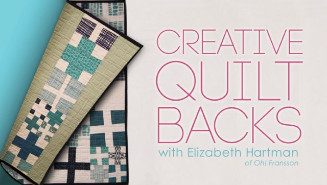 Creative Quilt Backs