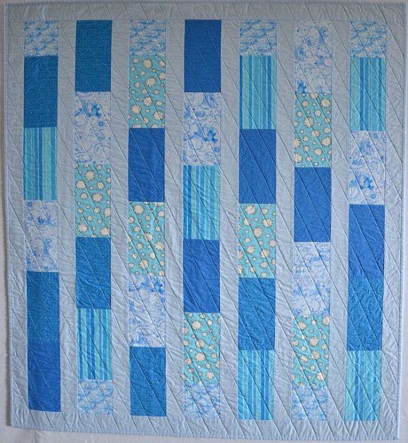 Baby Bricks in Blue