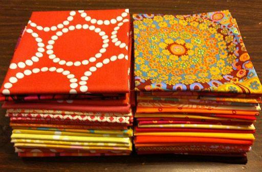 Warm Fabric Stash