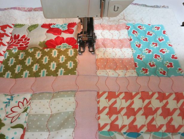 Serpentine Quilting