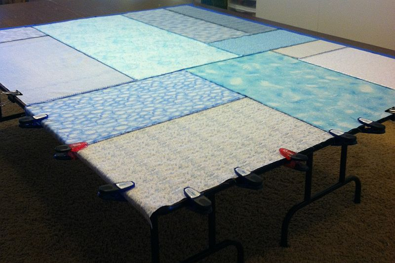 Christa's Quilt Along 4.6 – Basting Sea of Squares – Christa Quilts : how much backing for quilt - Adamdwight.com