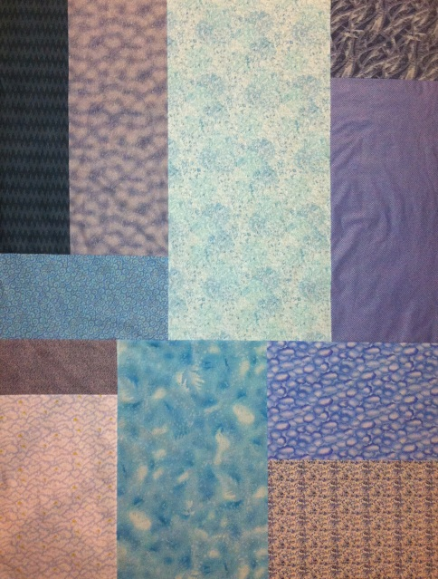 Pieced Quilt Backing