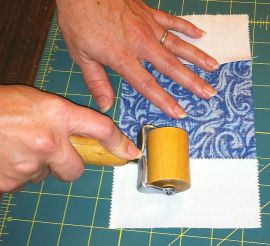 Seam roll the back.