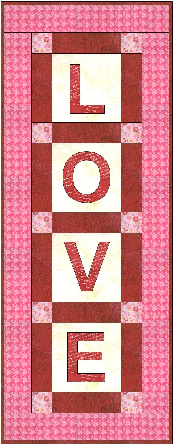 Modern Love Mini Quilt Along 3 Christa Quilts