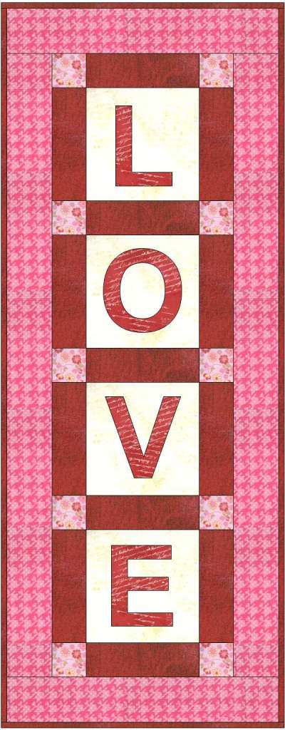 Love Wall Quilt