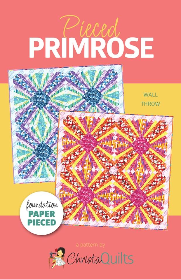 Pieced Primrose Quilt Pattern by Christa Watson