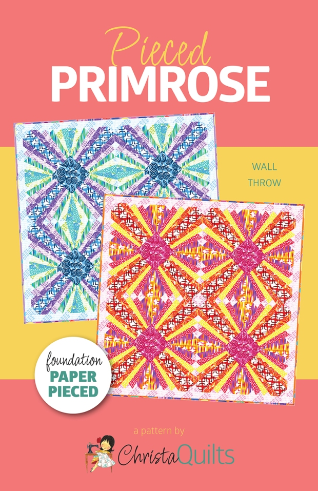 Pieced Primrose Quilt Pattern by Christa Watson