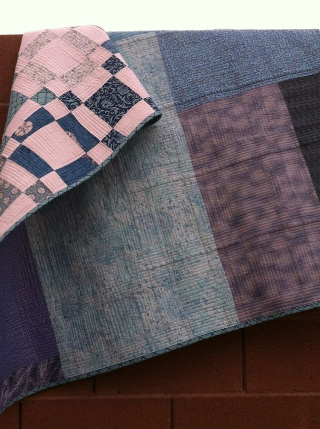 Backside of Quilt