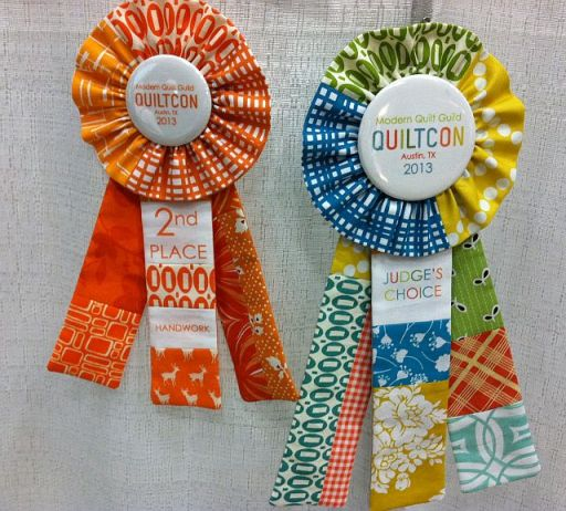Cute QuiltCon Ribbons