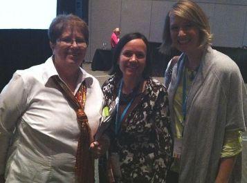 Vicki Anderson, Christa, Amy Gibson