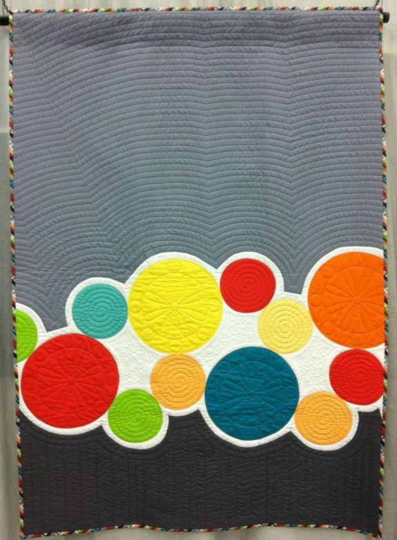 A Little Modern Applique Quilt Inspiration Christa Quilts