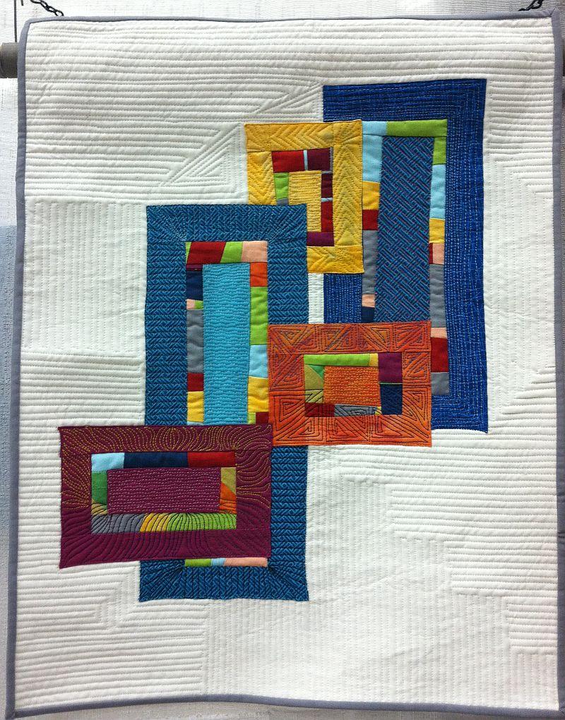 A Little Modern Applique Quilt Inspiration – Christa Quilts