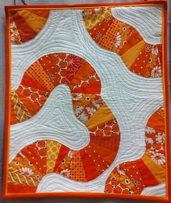 A little modern applique quilt inspiration christa quilts for Applique moderne