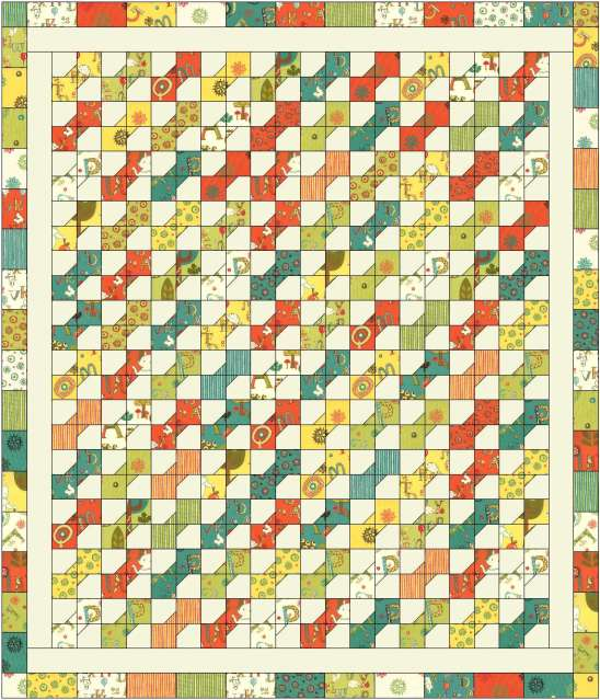 Christa S Quilt Along 5 2 Hugs N Kisses Fabric Layout