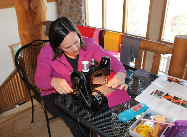 Sewing in the Mountains, 2013