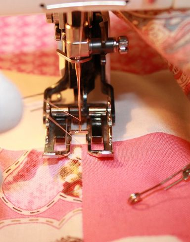 Pulling up the Bobbin Thread
