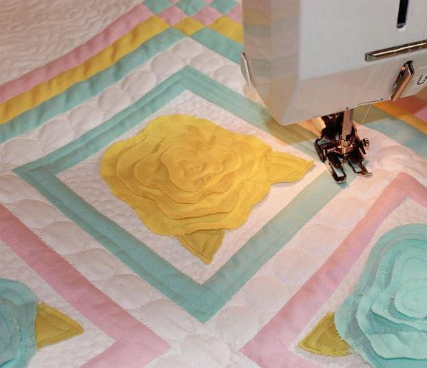 Quilting the Frames