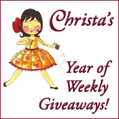 Christa's Year of Giveaways