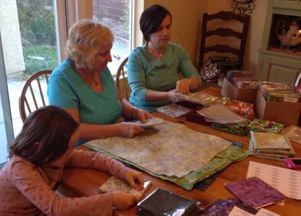 Three Generations of Fabric Lovers