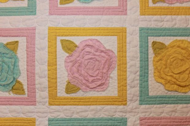 French Roses Washed