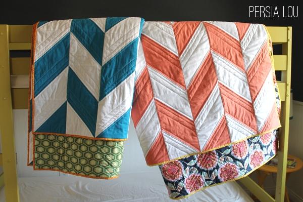 Modern Herringbone Quilts