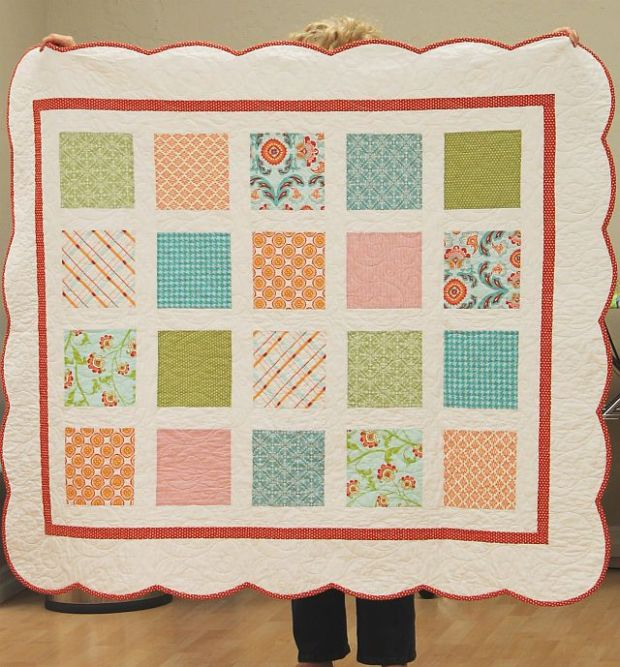 Patti's Baby Girl Quilt