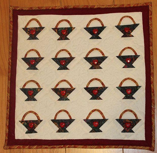 Mini Quilt Front