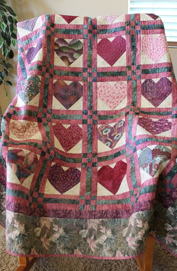Pieced Hearts