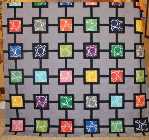 String of Pearls Quilt Top