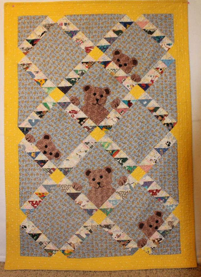 Baby Bears Quilt