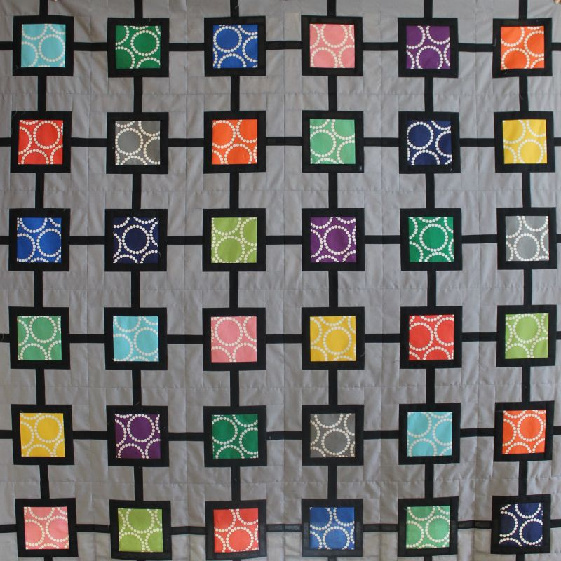 Shades of Grey – Pieced Backing Tutorial – Christa Quilts : string of pearls quilt pattern - Adamdwight.com