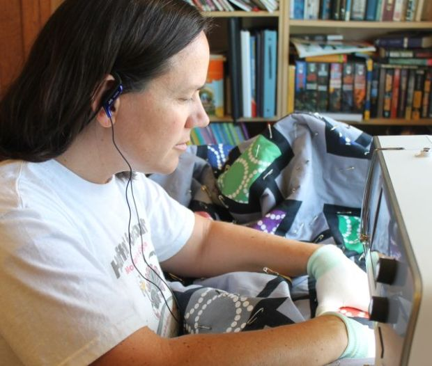 Audio Book while Quilting