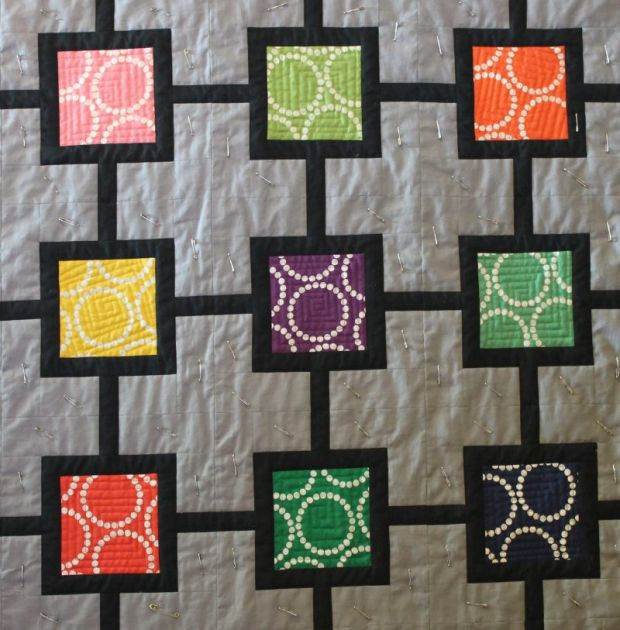 Square Spirals Quilting