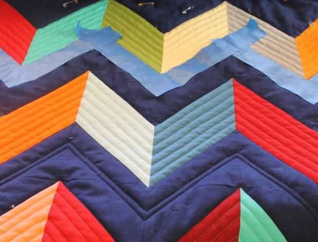 Painters Tape Quilting