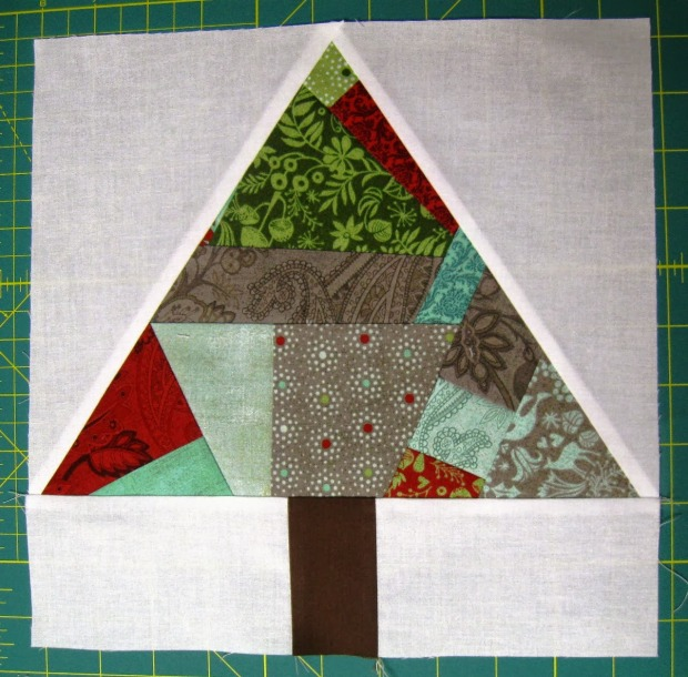 Paper Pieced Trees