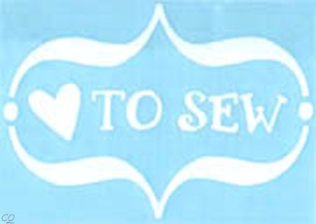 Love to sew!