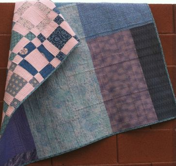 Sea of Squares Backing
