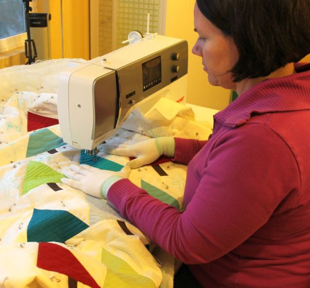 Quilting Modern Trees