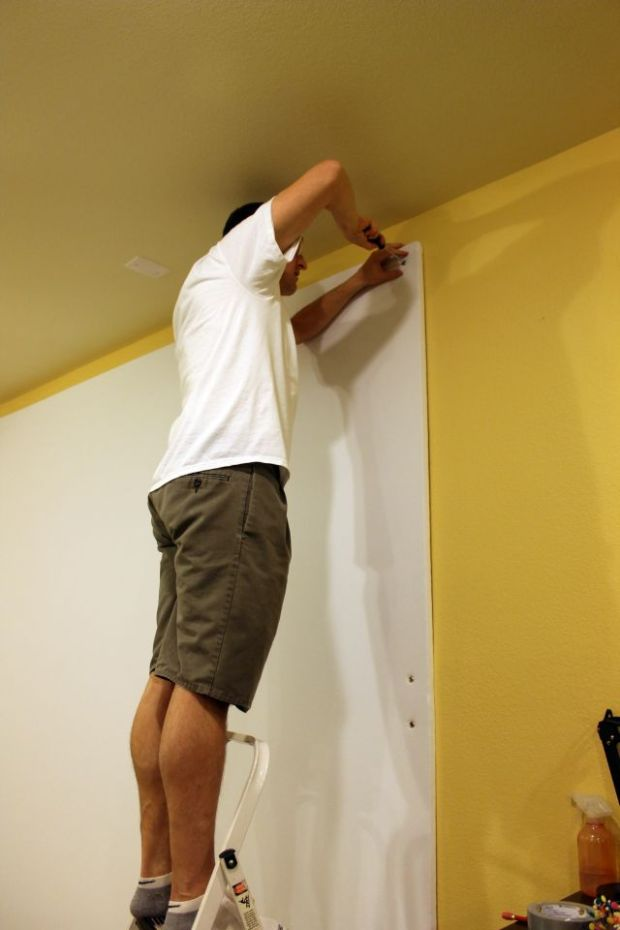 Mounting the Wall